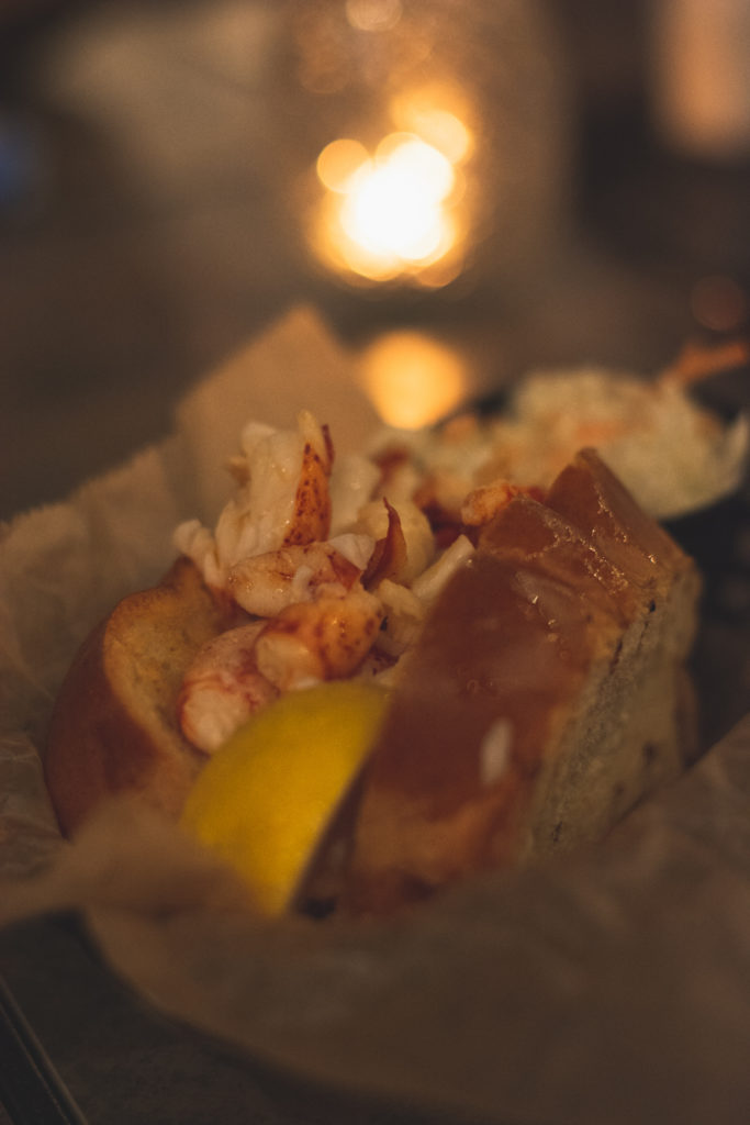 lobster roll in niantic, connecticut, photographed by jamie bannon photography.