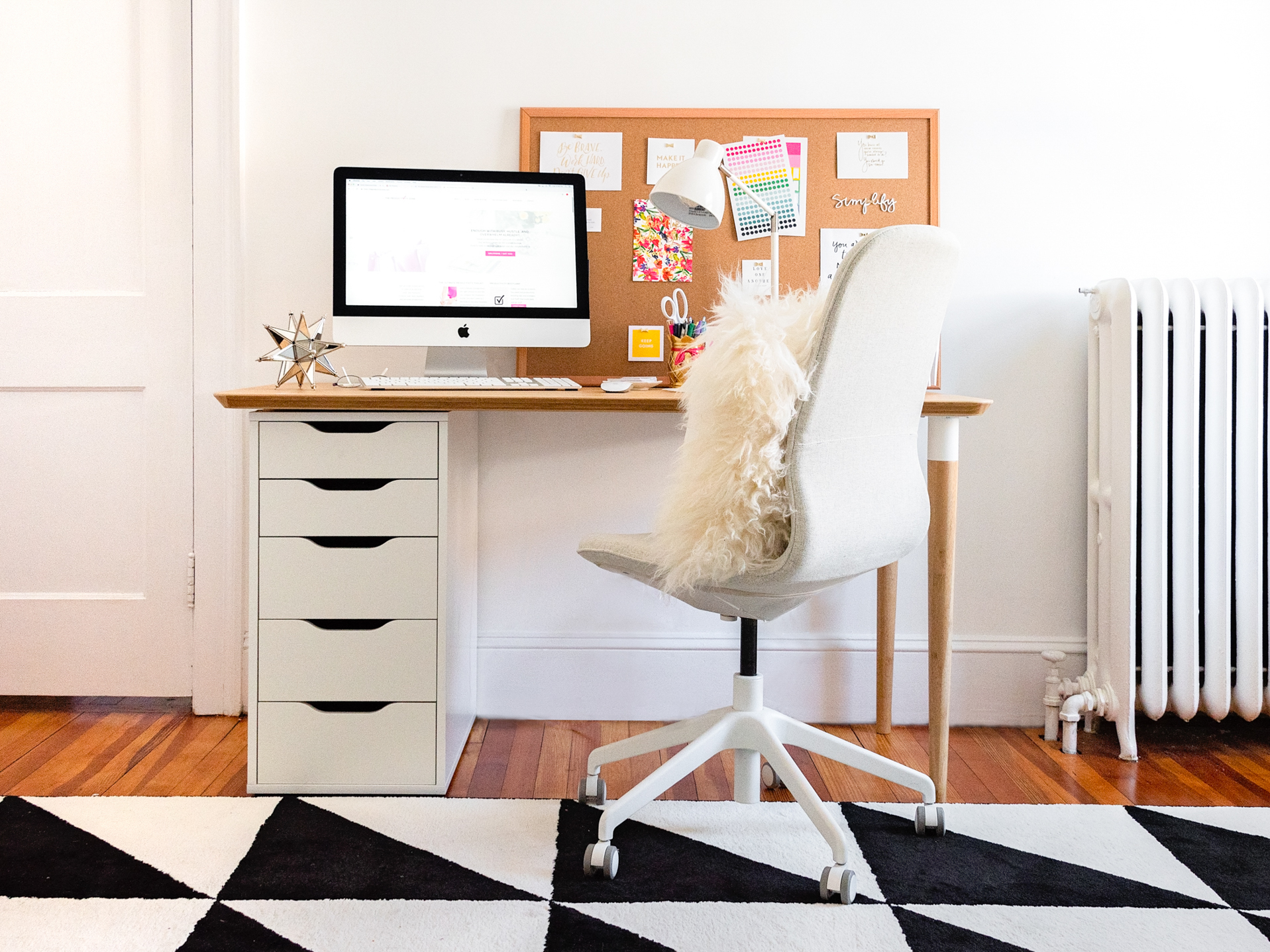 home office photographed as part of a brand shoot for the productivity zone by jamie bannon photography.