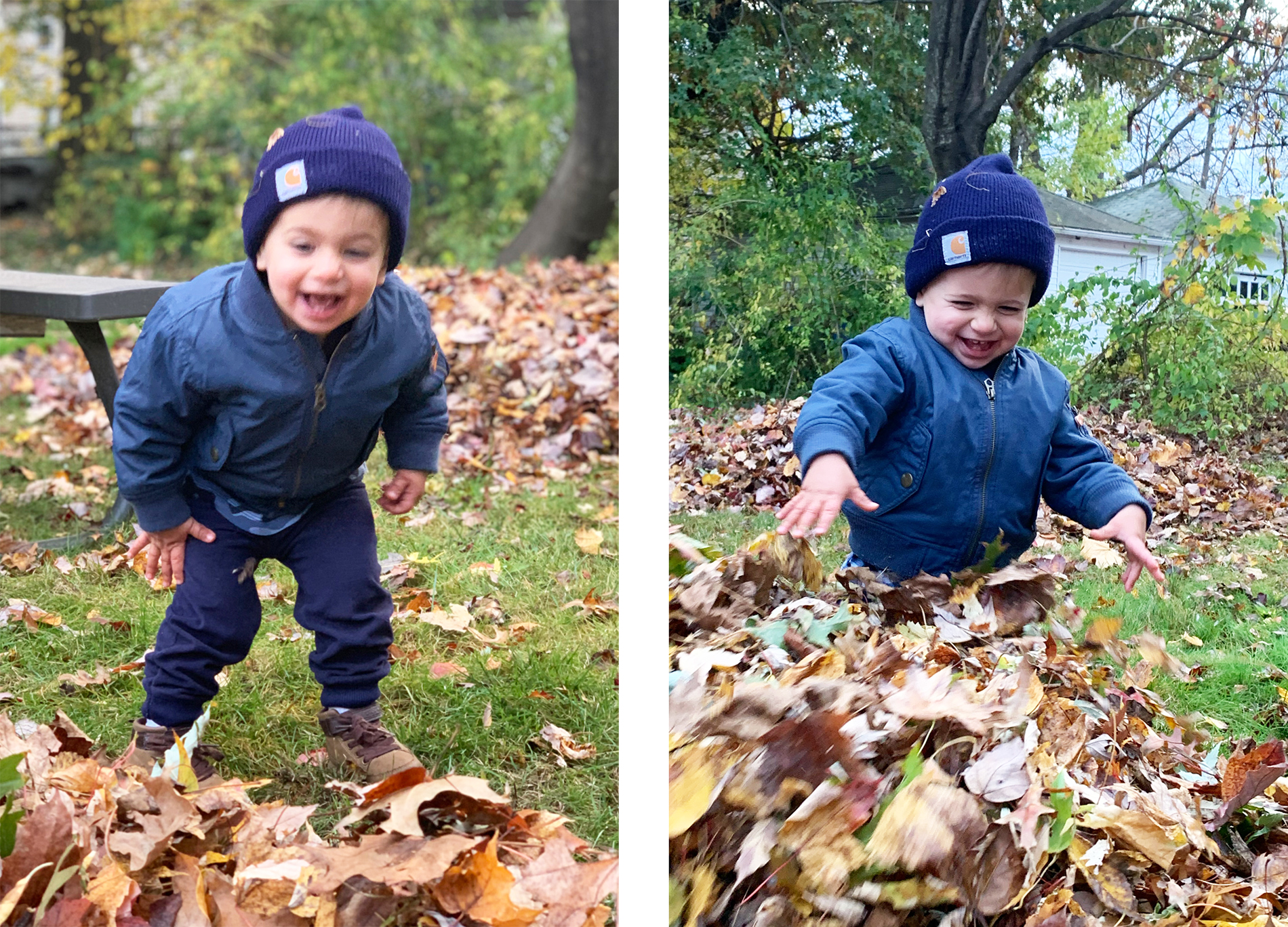 comparison of photos taken in portrait versus normal iphone photo mode, by jamie bannon photography.